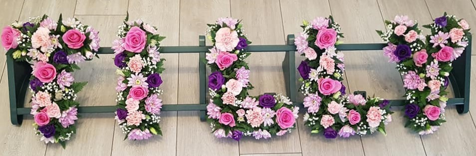 Floral Letters - Mixed
