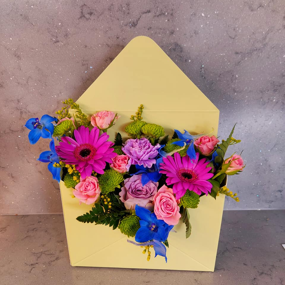 Sent With Love - Flower Envelope