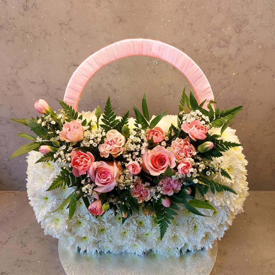 Handbag Funeral Flowers