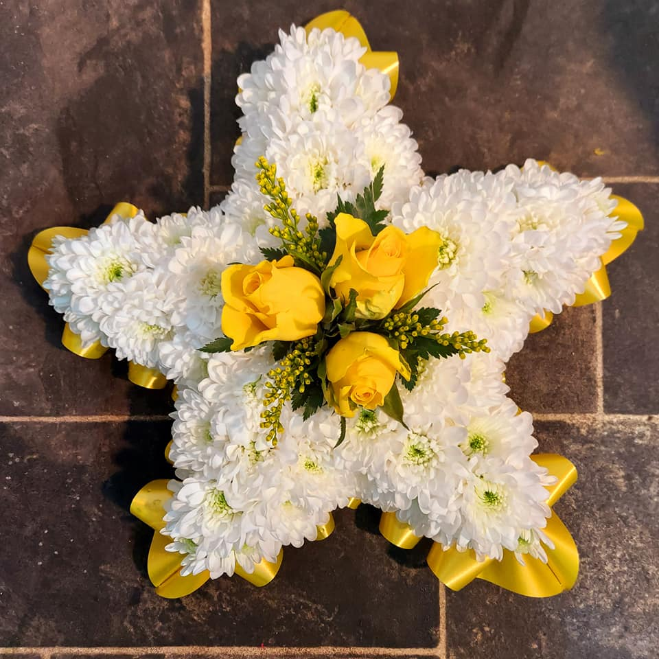 star funeral flowers
