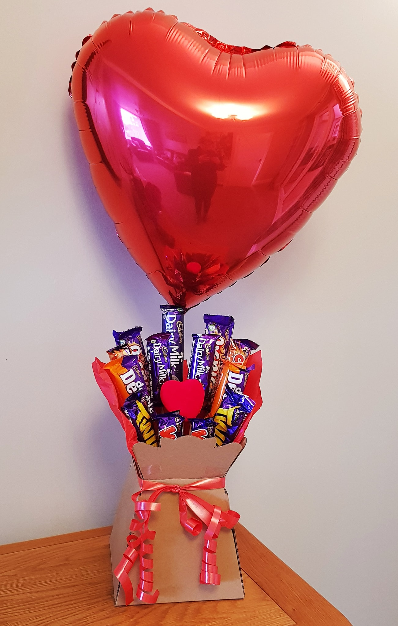 Valentine's Chocolate Bouquet