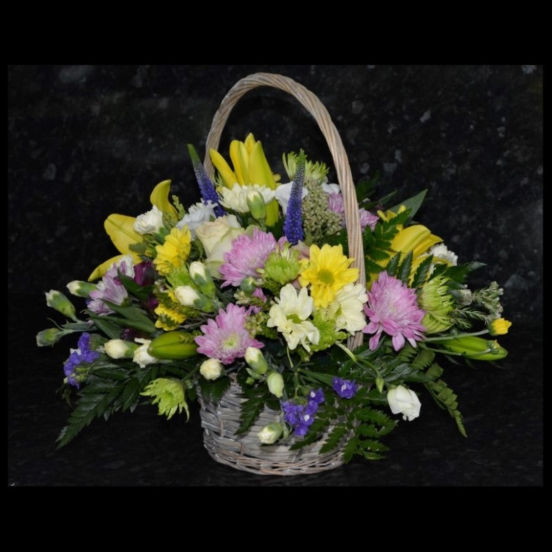 Basket of flowers, delivery in Carlisle